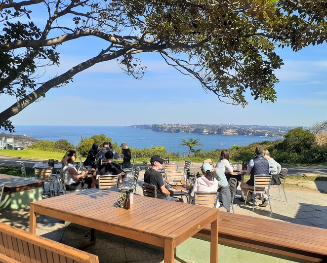 North Fort Manly cafe