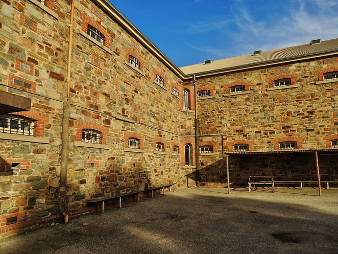 old adelaide gaol, adelaide gaol, free movies, ghostbusters, monster house, splash adelaide, outdoor cinema, indoor cinema, b wing, exercise yard