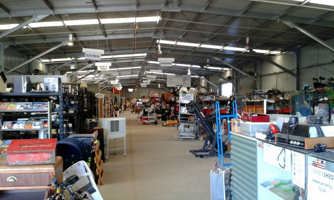op shops, canberra, ACT, biggest, thrift, second hand, green shed, salvos, vinnies,