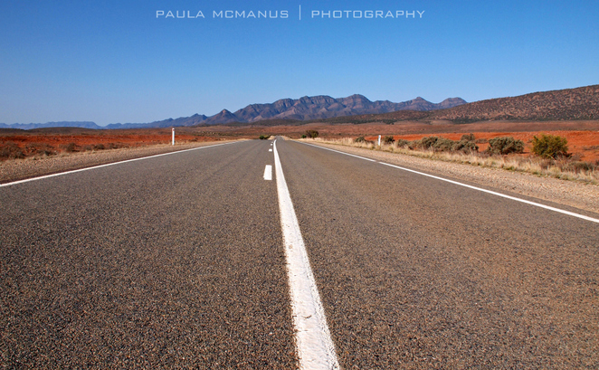 Outback Highway, Flinders Ranges, South Australia