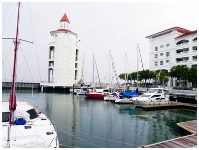 Penang, Straits Quay, Marina Harbour, attraction