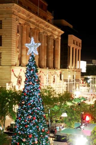 Perth, Christmas, decorations, christmas cards, nativity scene ...