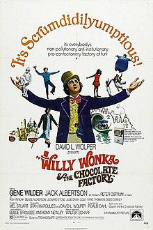 Piazzarama, Perth, Northbridge, Charlie and the Chocolate factory, kids movie, free movie, Hollywood movie, story book, Willy Wonka