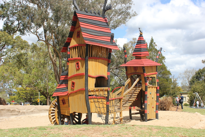 Picnic Point, playground, lookout, Toowoomba, day trip,