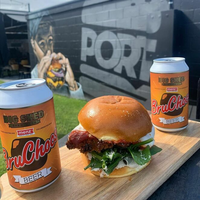 Port Burger Port Noarlunga locally crafted beers, support local brewing