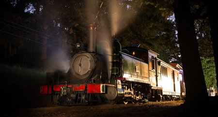Puffing Billy Steam Train, Murder Mystery