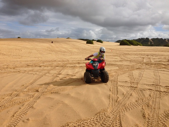 quad bike riding, Shoal Bay, Port Stephens, Nelson Bay
