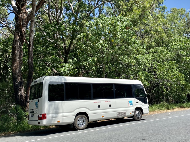 Visit the island's best destinations in comfort and style with QLD Day Tours' airconditioned bus
