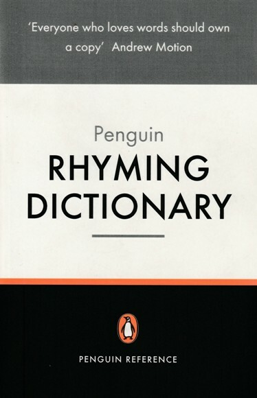 rhyming dictionary, penguin, writing, book