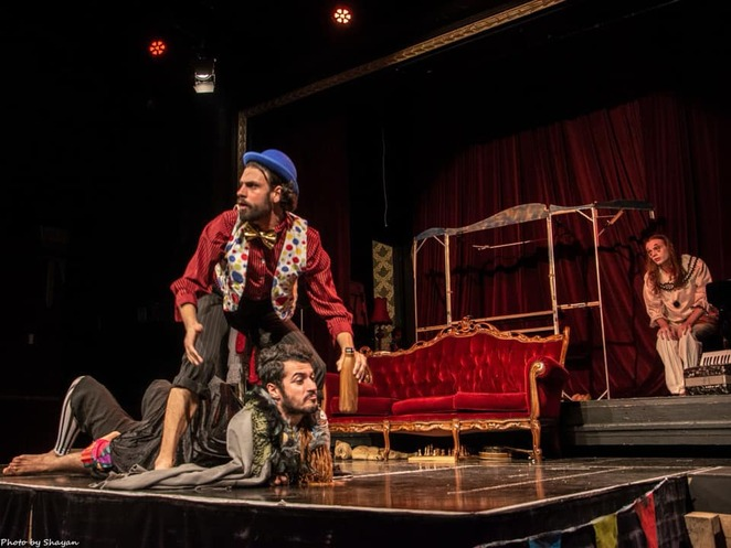 Shayan Askari, The Tempest at the Giant Dwarf, The Giant Dwarf, Fingerless Productions,Zoran Jevtic, Zac Selmes, Independent Theatre.