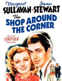 Shop Around the Corner vintage film poster