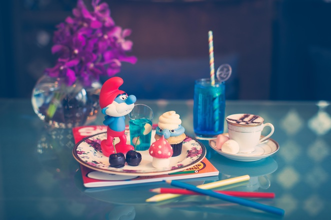 The Smurf High Tea at The Langham