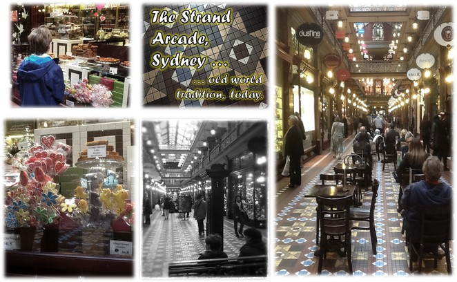 The Strand Arcade - old world tradition, today.