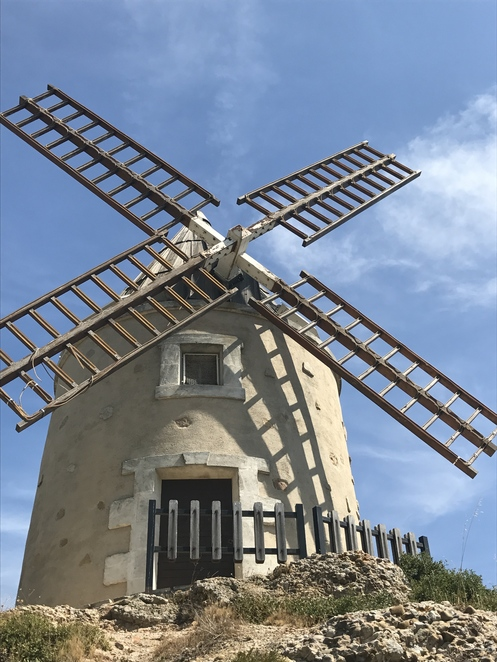 The windmill in Martigues