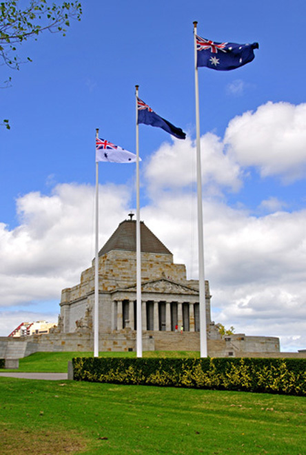 Victoria Melbourne Shrine of Rememberance Armed Forces Reserve Reservists Army Navy Air Force Parade Commemorative Service Light Horse Battle of Beersheba