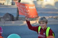 Walk to school, school safety, exercise
