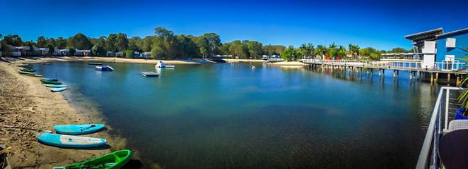watersports, kayaking, stand up paddle boarding, Couran Cove Island Resort, South Stradbroke Island, day trip, resort, activities, adventure