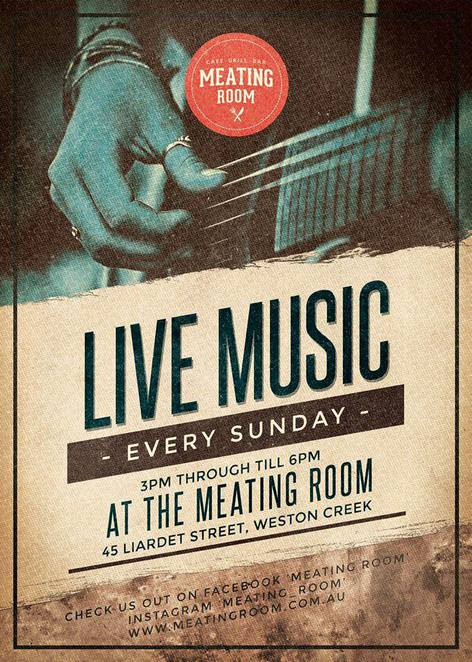 the meating room, wetson creek, canberra, breakfast, lunch, dinner, nightlife, live music, bar, grill, cafe,