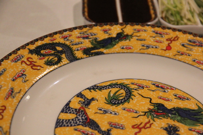 Yellow and Blue plates