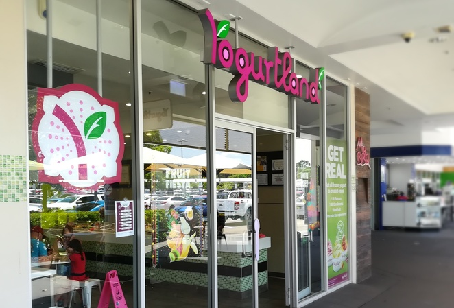 yoghurtland, glendale, NSW, locations, frozen yoghurt, franchise, newcastle, kids, children, catering, outlets, dessert, takeaway, family, specials, outlets around Australia, flavours, pricing, dairy free, gluten free, sugar free,