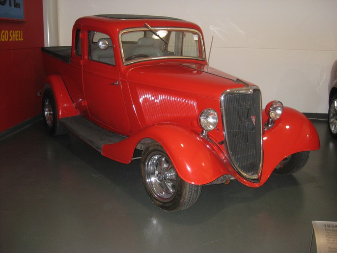 1934 ford coupe, 1934 utility, ford utility, history of the ute, history of ford, australian inventions, australian inventors, lewis bandt,