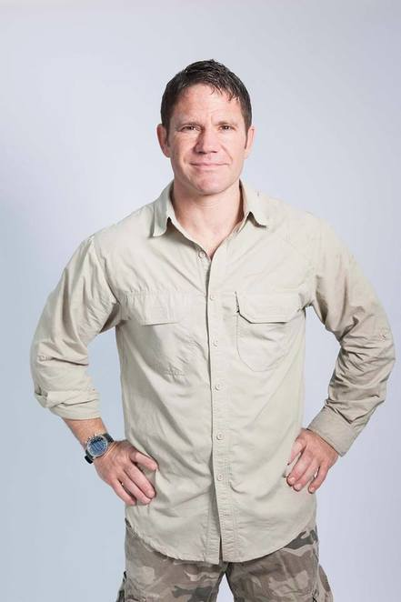 An interview with Steve Backshall