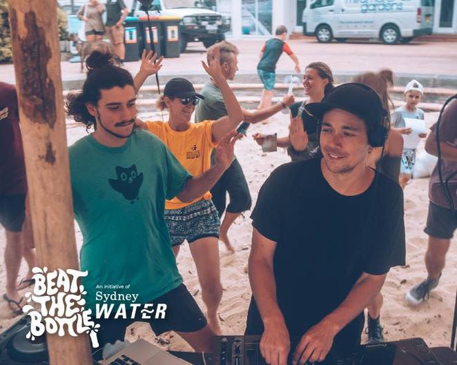 beat the bottle parramatta 2018, community event, fun things to do, music, entertainment, dj, purple sneakers, music workshop, junkyard beats, parramatta river foreshore, sydney water, environmental education, clean the parramatta river foreshore, remove plastics, save the ocean, save the earth