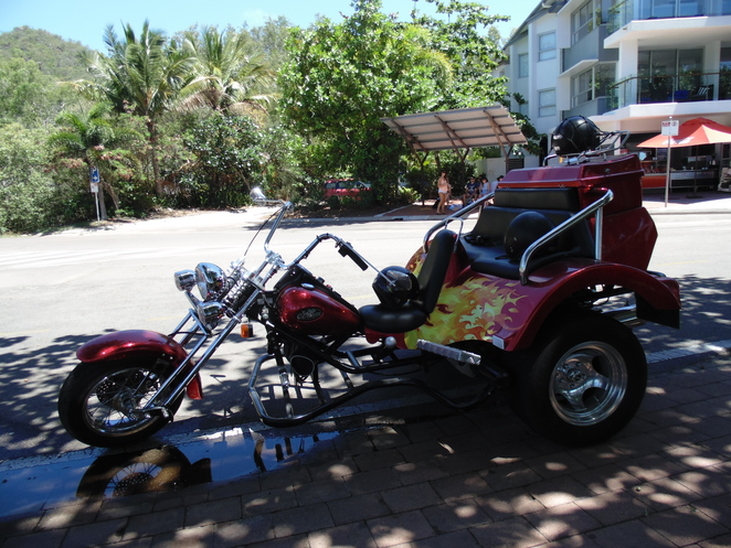 Blue Acid Trike Amp Harley Tours On Magnetic Island Townsville