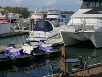 boats, Spinnaker Sound, Dock N Dine, boats, marina