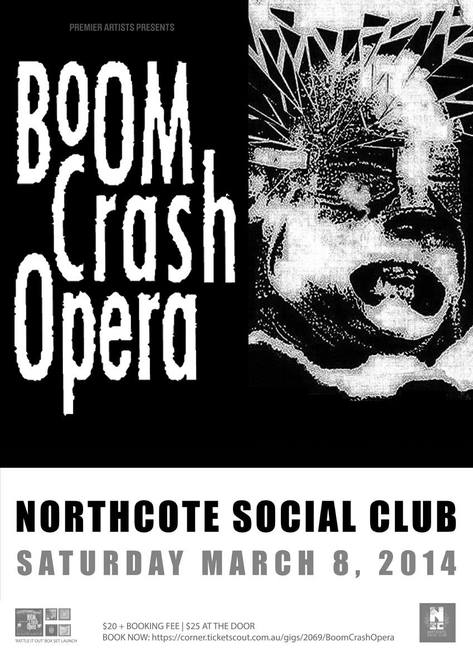 Boom Crash Opera @ Northcote Social Club