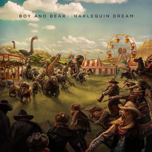 boy and bear, harlequin dream