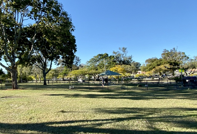 A large, fenced off-leash area ensures that even the family dog will love visits to Bradbury Park