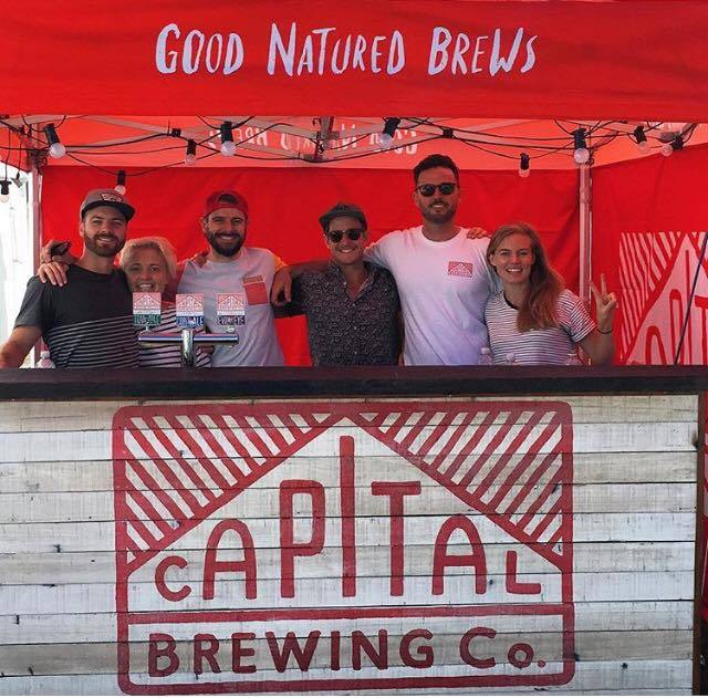 capital brewing co, christmas in glebe park, ACT, canberra, 2017, christmas events, festivals, glebe park,