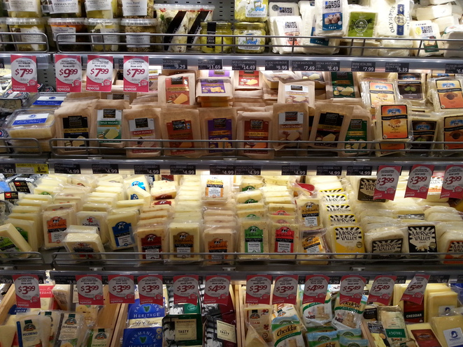 Cheese, IGA Marketplace, Wises Road