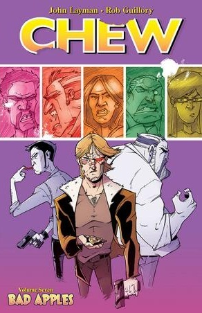 Chew, comics, comics about food, funny comics, Chew: Bad Apples, Tony Chu