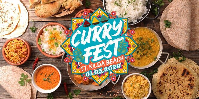 curry fest st kilda beach 2020, community event, fun things to do, holi tribe festival 2020, bhangra australia, curry fest, asian cuisine, indian sub continental food, free beach event, live music, live performances, entertainment, gourmet food, activities, family fun, food lovers paradise