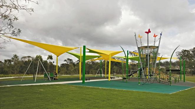 Demeio Park, Logan City, playground, children, family