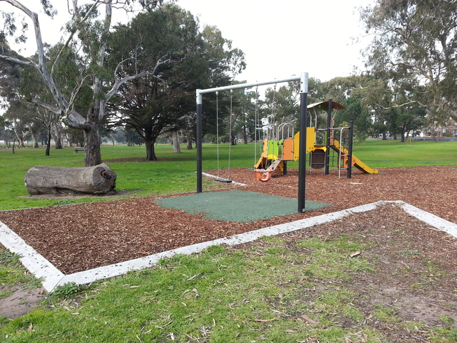 Eastern Park playground swings, Geelong