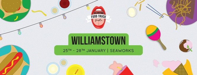 food truck fiesta williamstown, street food, community event, fun things to do, local music, family friendly, fiesta, raffle tickets, awesome prizes, kids entertainment, rides, face painters, market stalls, live music, seaworks, dog friendly, festival, williamstown pupper appreciation festival