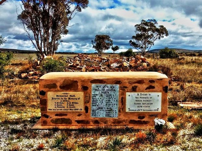 ghost town, railway, south australia, adelaide, mid north, world war, south australian railways, ucolta, flinders ranges, ucolta memorial hall