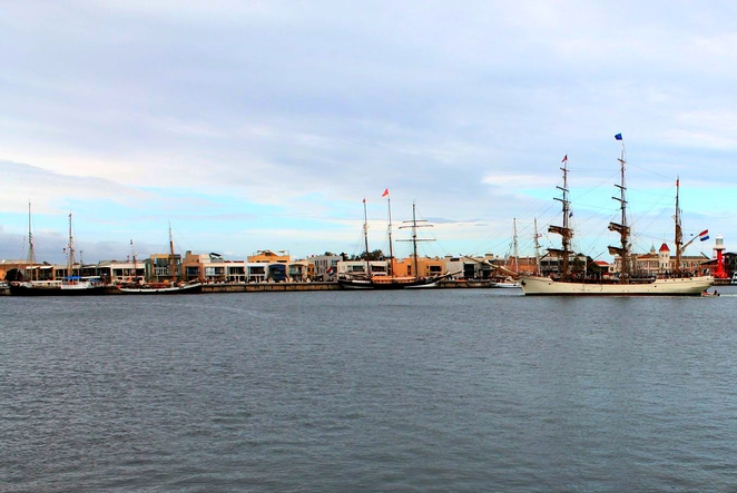 hmb endeavour, hmb endeavour replica, endeavour replica, maritime museum, adelaide visit, tall ships, bark endeavour, visit adelaide, one and all, dutch tall ships