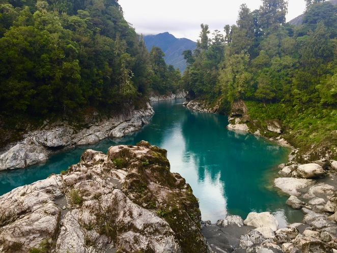 Hoklitika, Gorge, New Zealand, West Coast, Walk