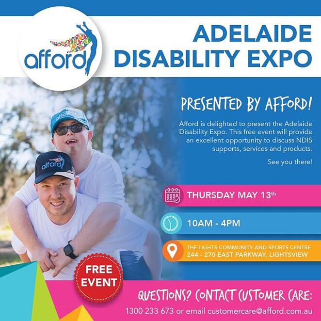 Adelaide Disability Expo Presented by Afford