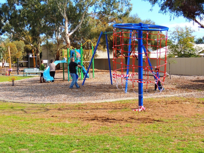 in adelaide, walking trail, bowden, brompton, bowden urban village, gasworks, clipsal industries, pug holes, playground