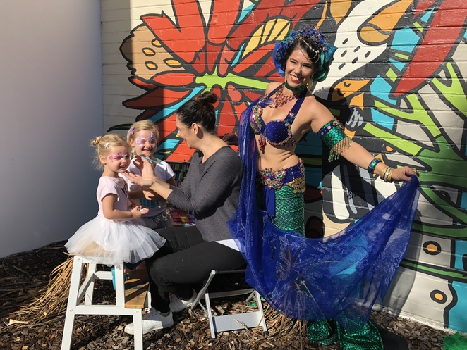 Inglewood on Beaufort, Night Markets, Finale celebration, Face painting, Music and Dance