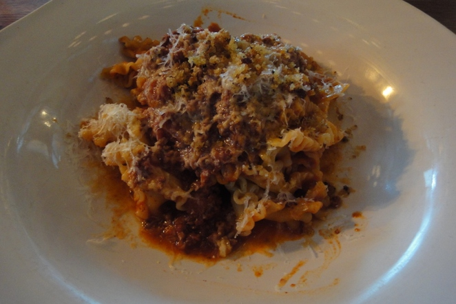 Jamie's Italian, Sausage Pappardelle, Adelaide