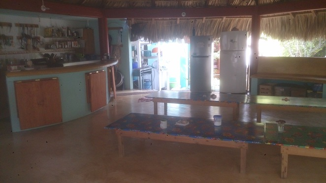 Kitchen, Hridaya, Yoga, meditation, Mazunte