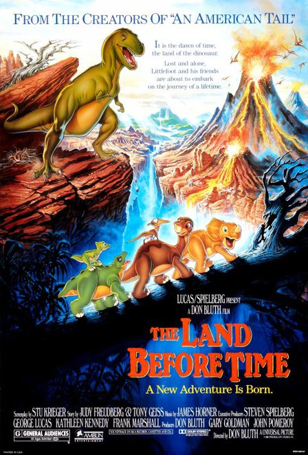 Land, Before, Time, Dinosaur, Little Foot, Cartoon, Animated, Non-Disney, Film, Movie, 80's, Differences, Friendship, Children, Kids, Family
