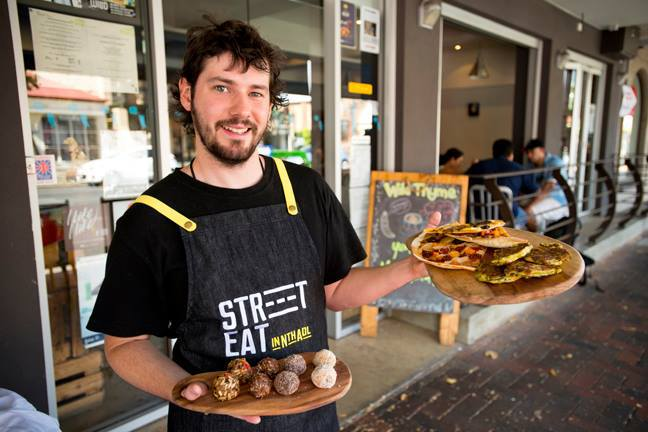 Last Friday in North Adelaide, Street Eat in North Adelaide