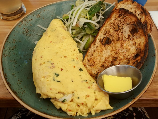 Lunch, Wahroonga, cafe, crab, omelette
